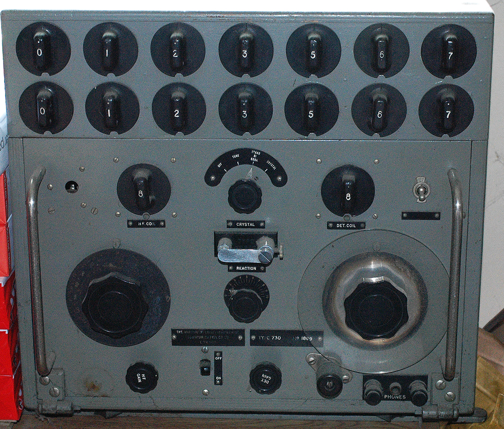 Marconi 730 Tuned Radio Frequency Trf Receiver Circuit Diagram This Is A Model