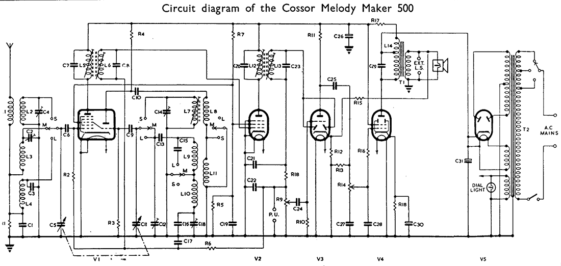 Melody Maker Circuit Diagram.Melody Makers